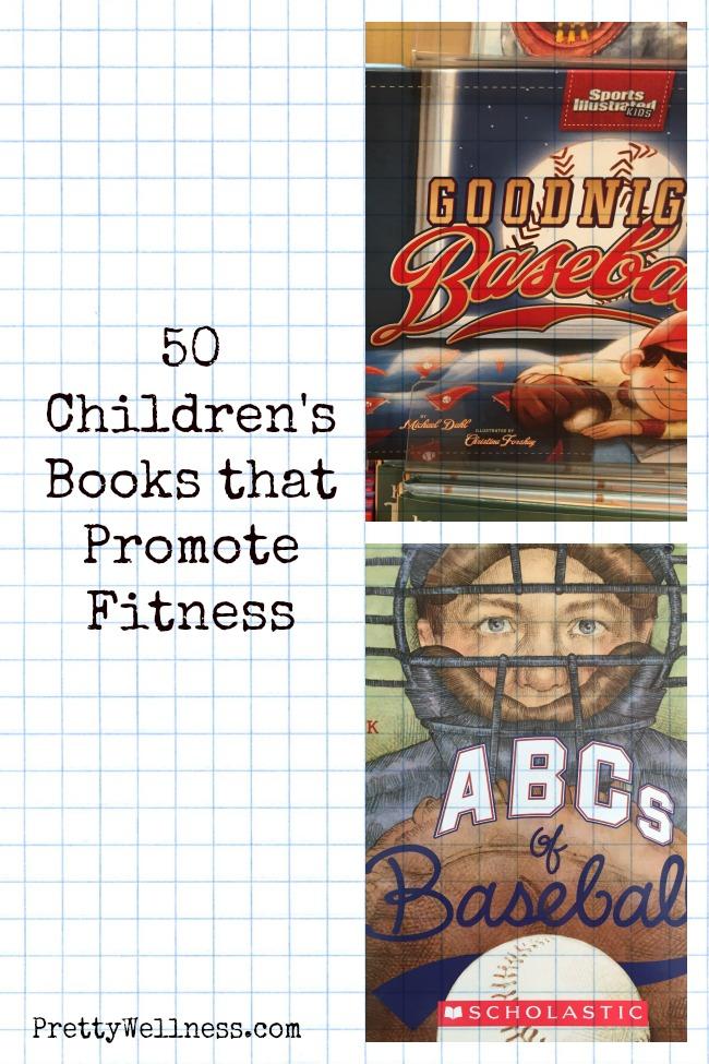 50 Children's Books that Promote Fitness