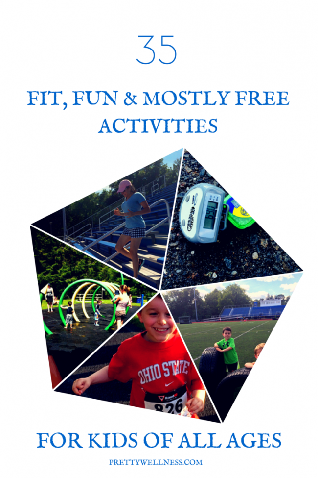 35 Fit, Fun & Mostly Free Activities for Kids