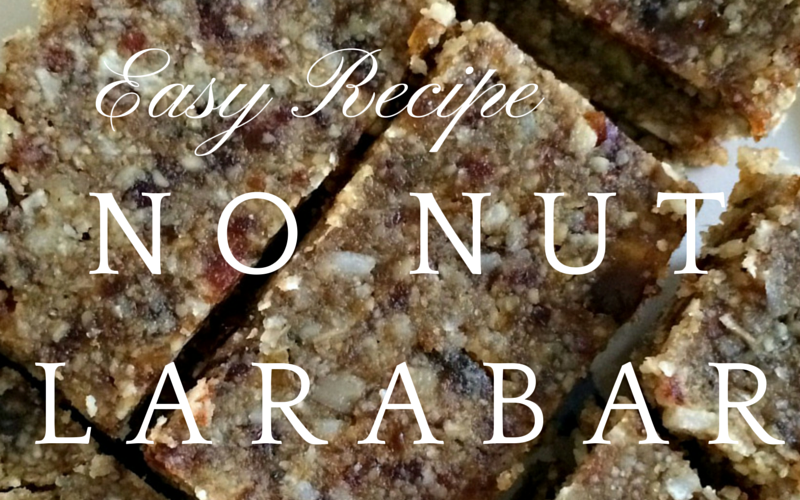 Easy Recipe: No-Nut Larabars