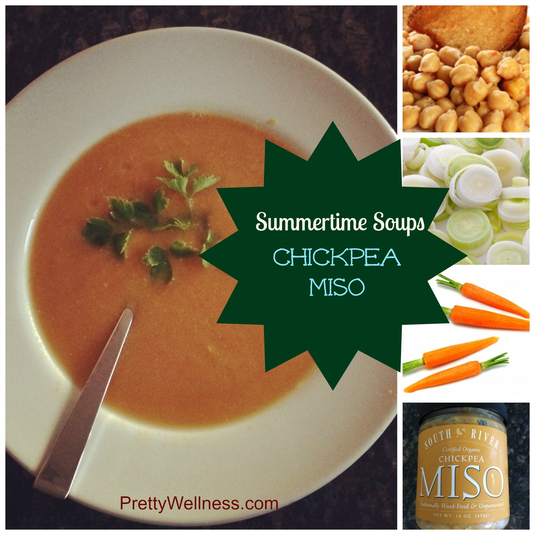 Easy Recipe: Chickpea Miso Soup