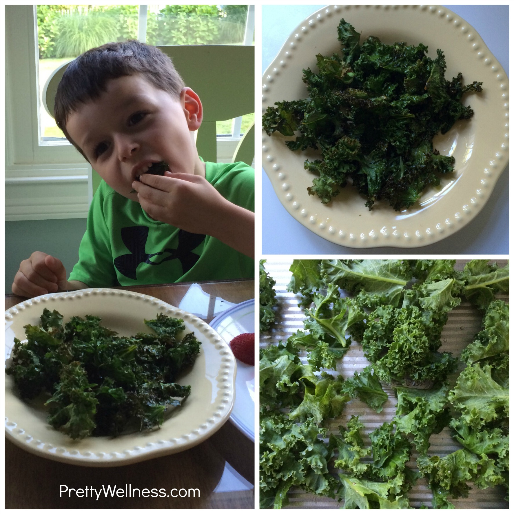 Easy Recipe: Kale Chips