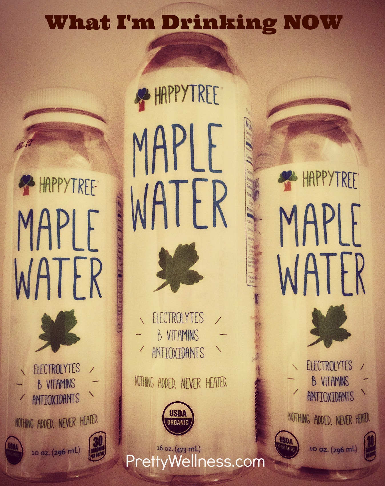 What I'm Drinking Now: Maple Water
