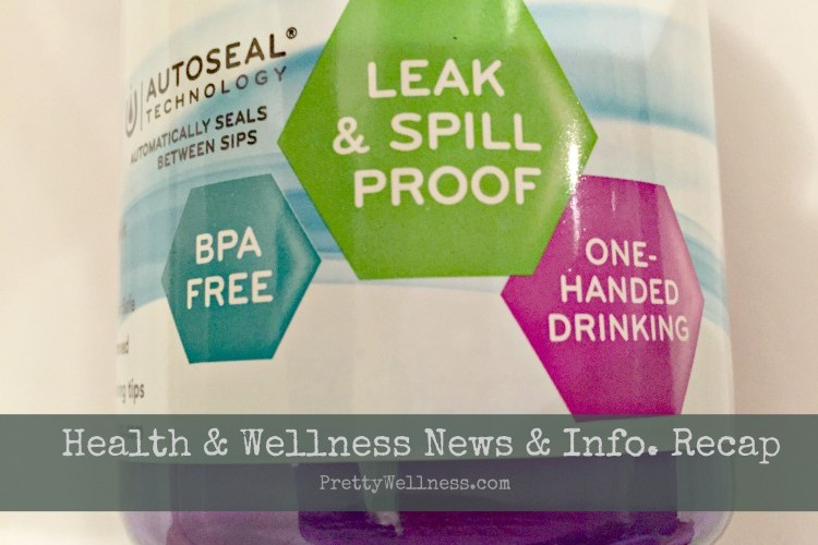Health & Wellness News & Info. Recap, Week of 1/12