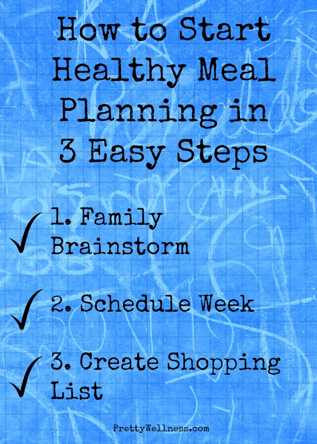 How to Start Healthy Meal Planning in Three Easy Steps