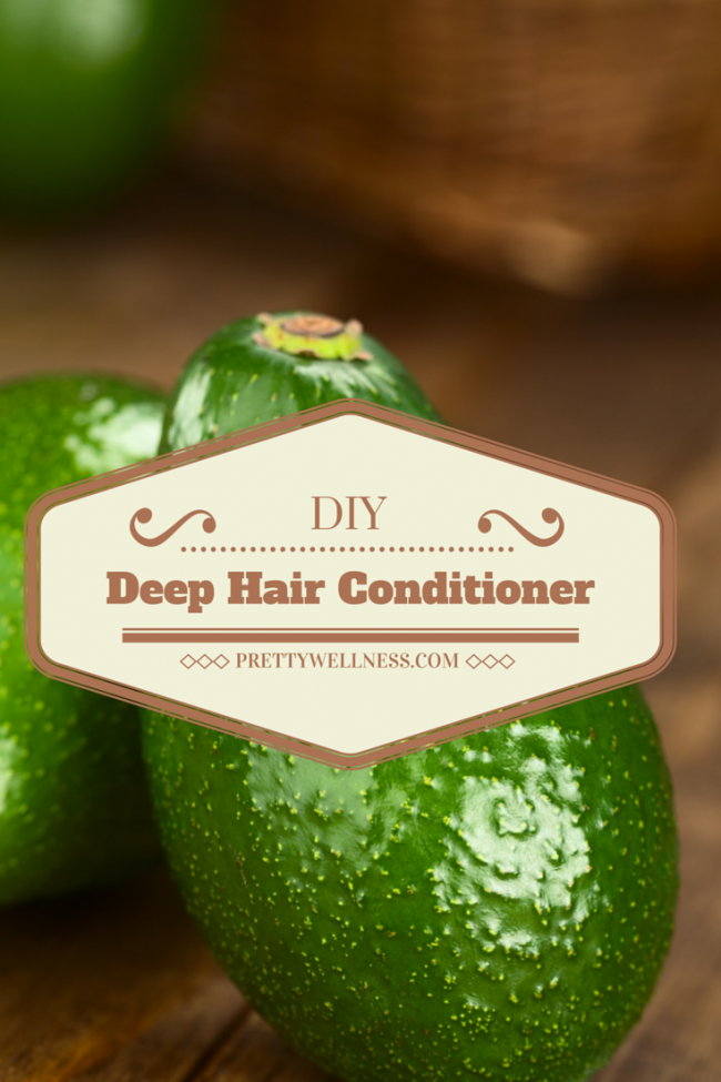 All-Natural Beauty: DIY Deep Hair Conditioner