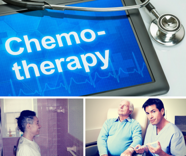 Chemotherapy Tips: Me, Kev, 2 Nurses & an IV