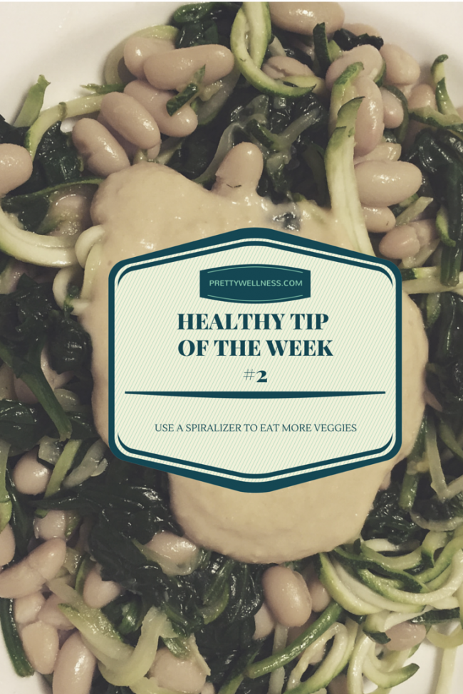 PRETTYWELLNESS.COM HEALTHY TIP OF THE WEEK#2