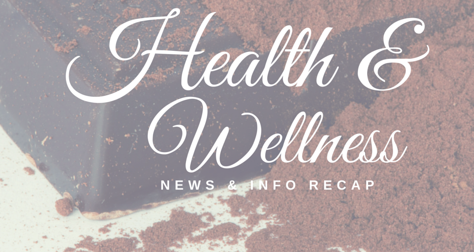 Health & Wellness News & Info Recap, Week Ending 3/8