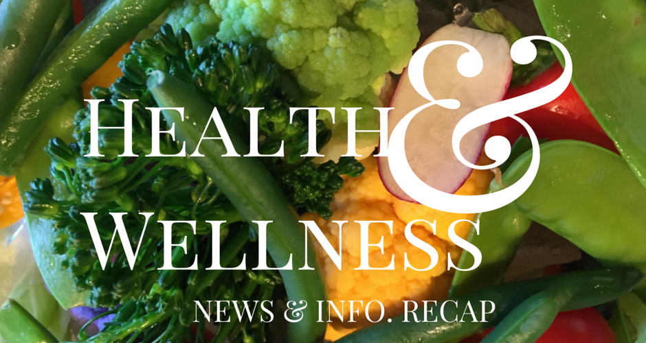 Health & Wellness News & Info Recap, Week Ending 3/2
