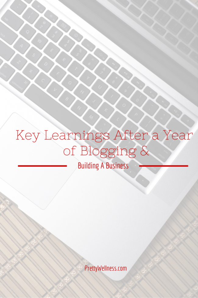 Key Learnings After A Year of Blogging and Building a Business