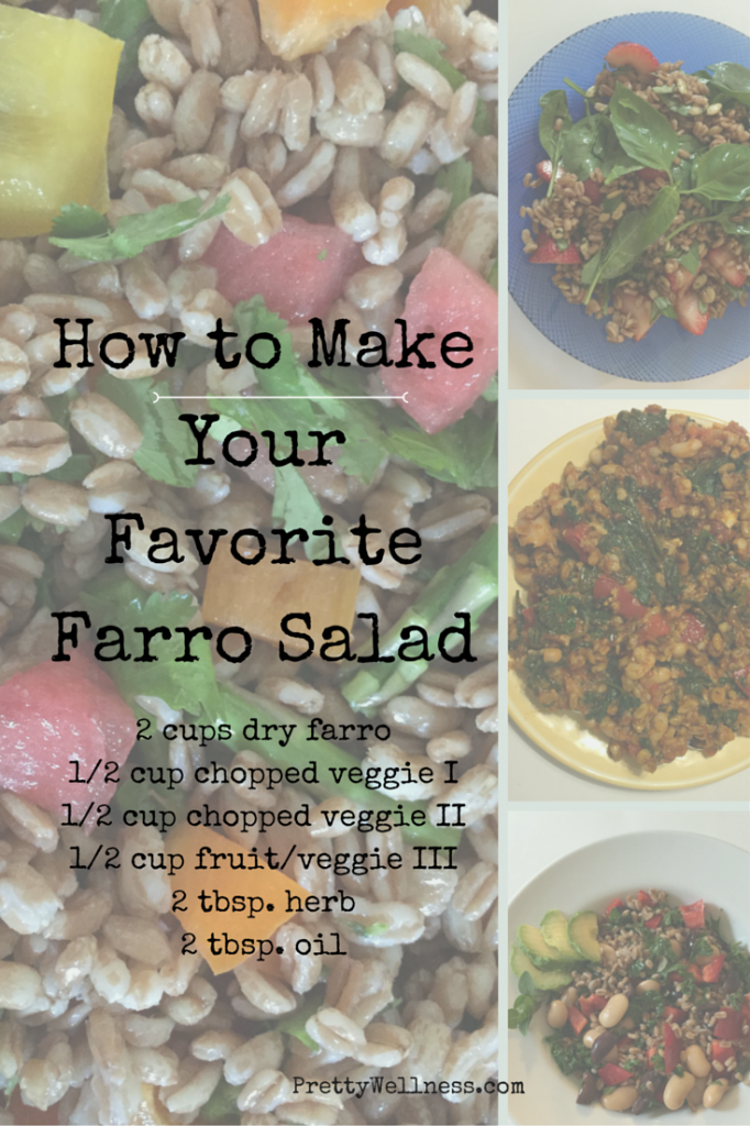 Easy Recipe: Farro Salad