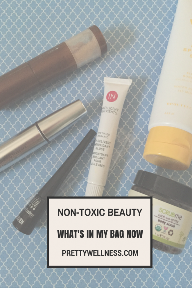 Non-Toxic Beauty: What's in My Bag Now