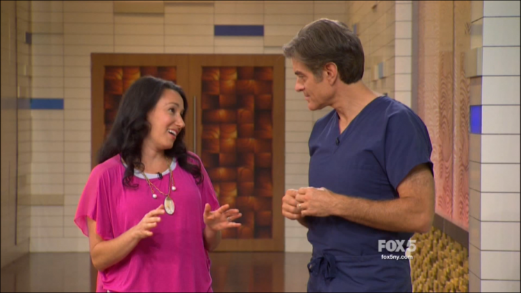 Caryn Sullivan of Pretty Wellness on The Dr. Oz Show