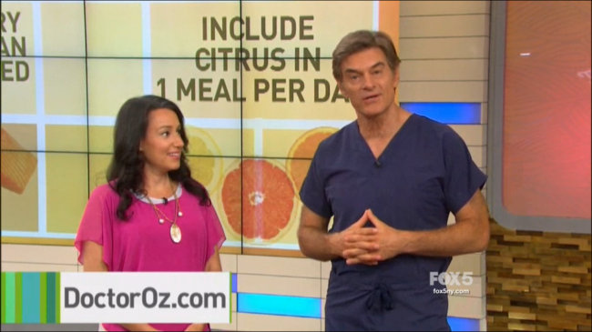 Caryn Fine Sullivan on The Dr. Oz Show - October 20, 2015