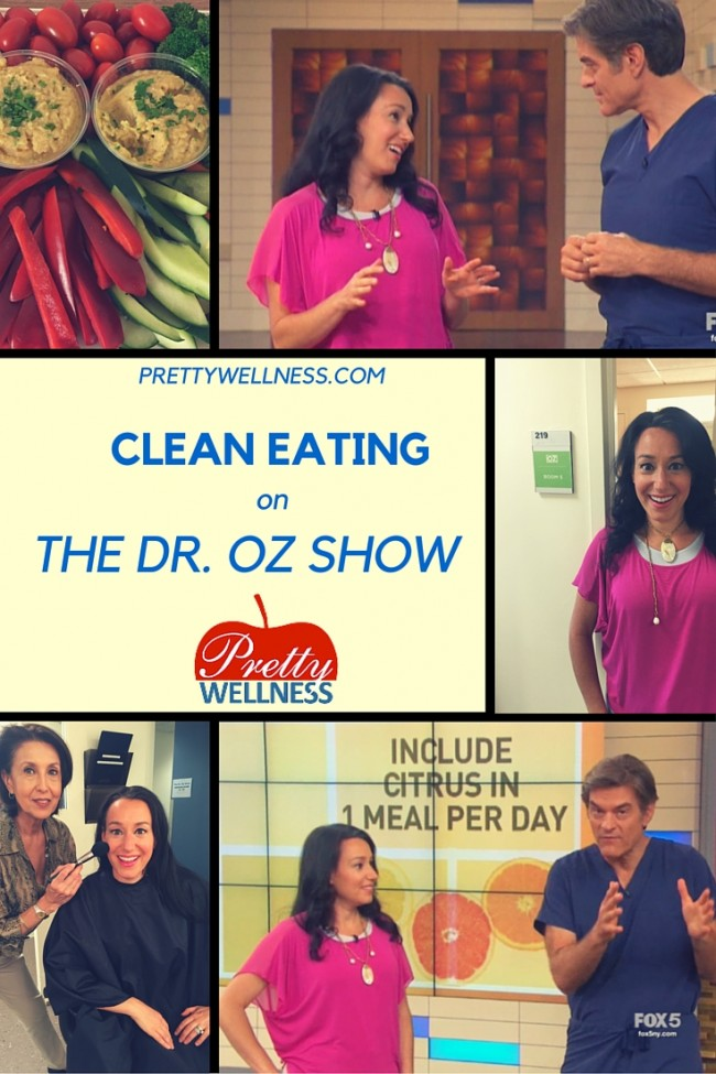 Caryn Fine Sullivan of PrettyWellness.com and The Huffington Post on The Dr. Oz Show