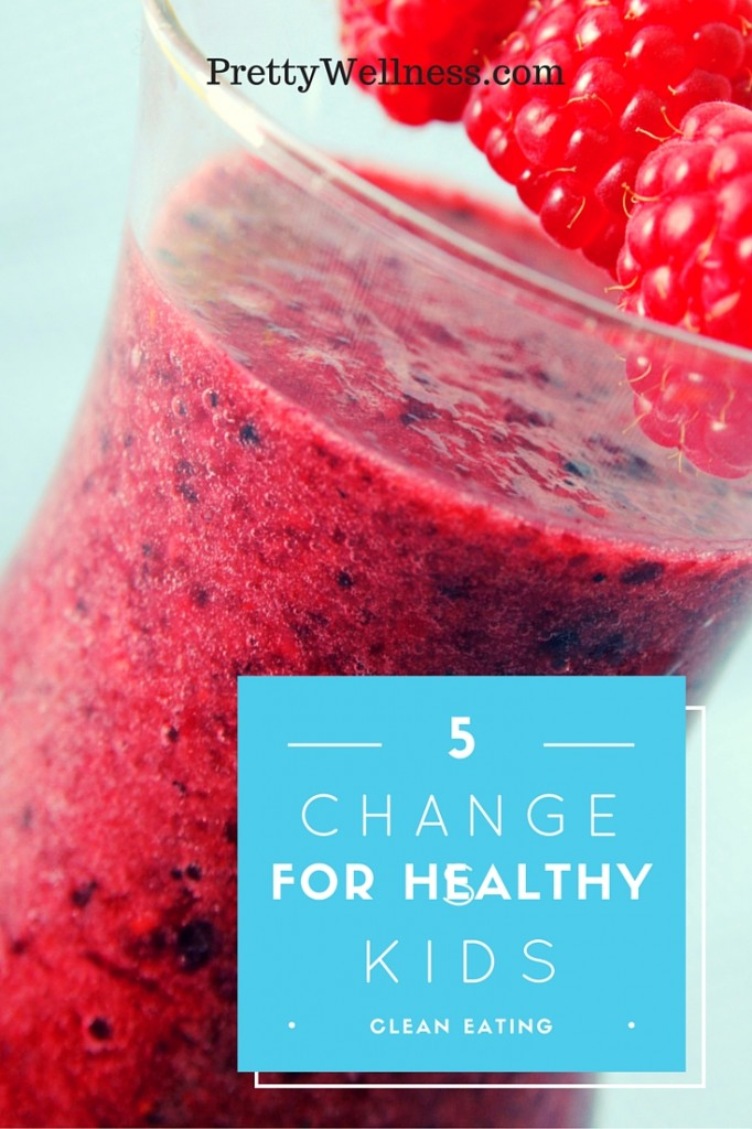 Top 5 Changes for Healthy Kids: Clean Eating