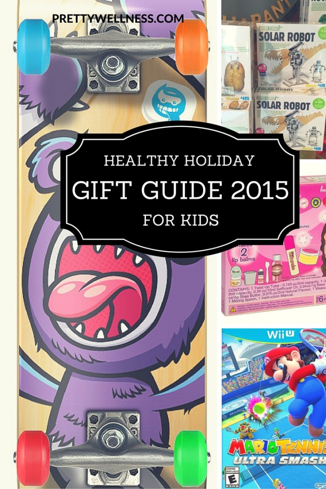 PrettyWellness.com Healthy Holiday Gift Guide for Kids 2015