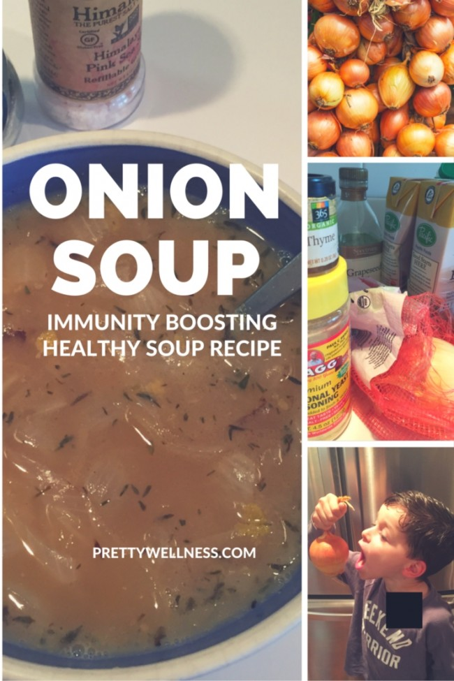 Immunity Boosting Onion Soup