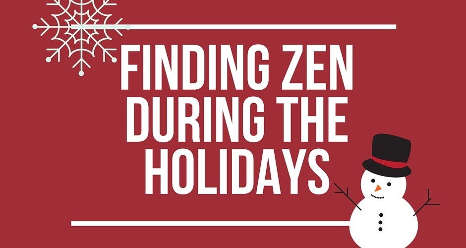 Healthy Gadget Girl: Tools for Holiday Zen