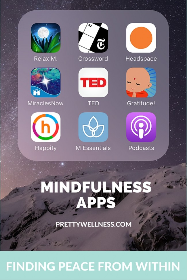 PrettyWellness.com Mindfulness Apps