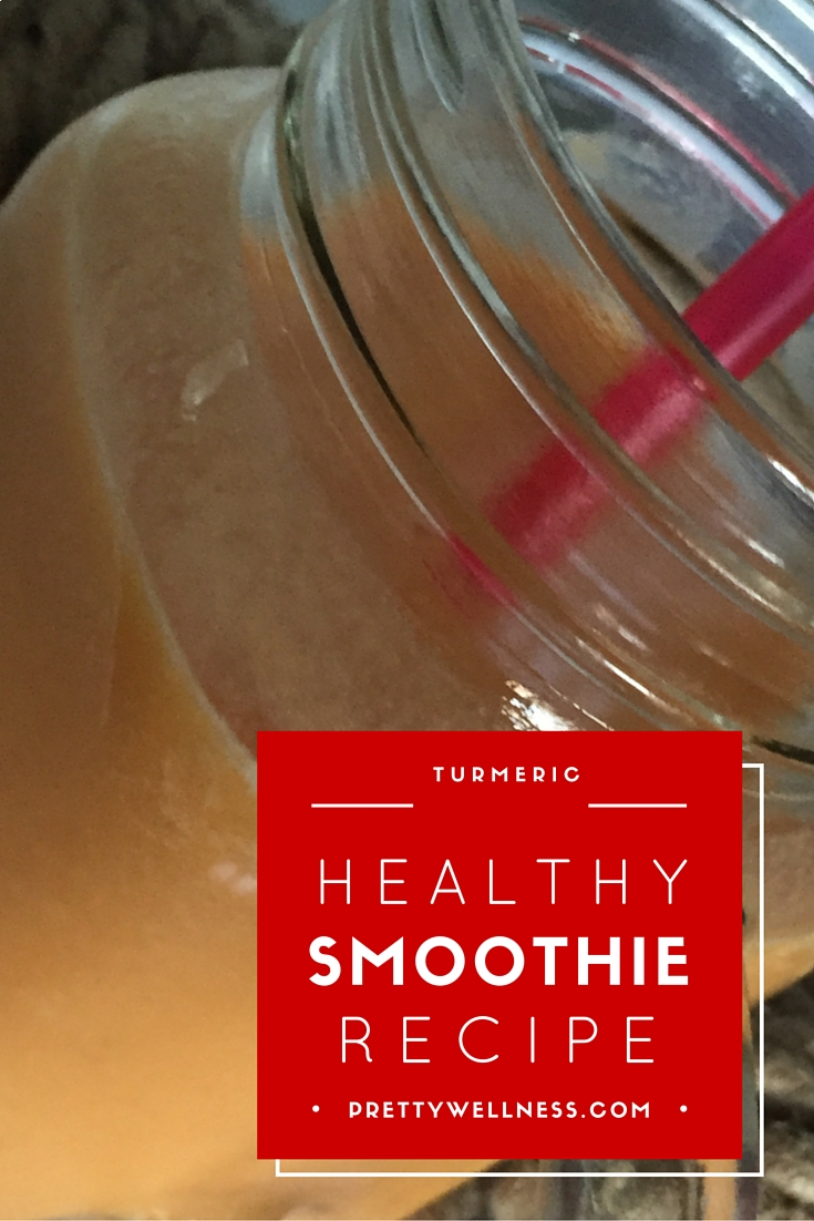 Easy Recipe: Creamsicle Turmeric Healthy Smoothie