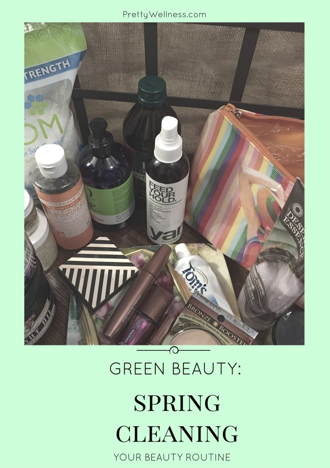 Green Beauty: Spring Cleaning Your Beauty Routine