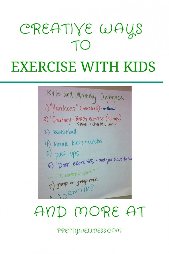 Creative Ways to Exercise with Kids on WTNH