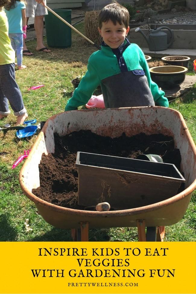 Inspire Kids to Eat Veggies with Gardening Fun