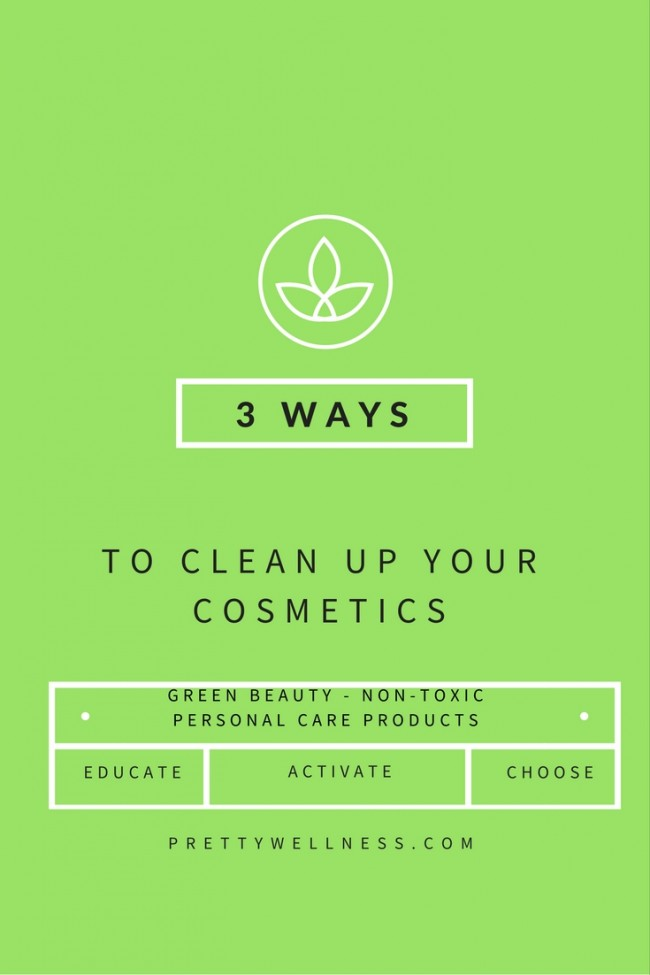 PrettyWellness.com 3 Ways to Clean Up Your Cosmetics