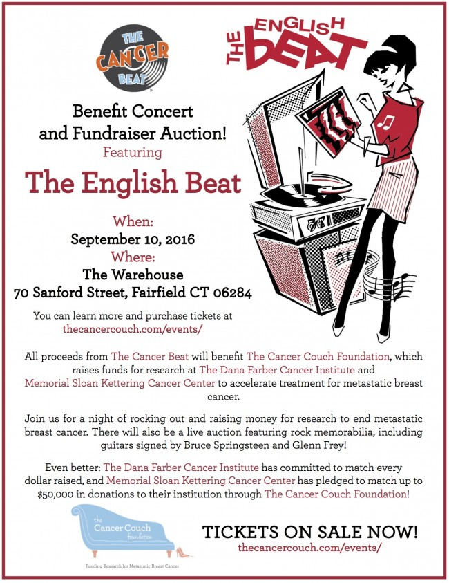 The Cancer Beat Concert and Fundraiser