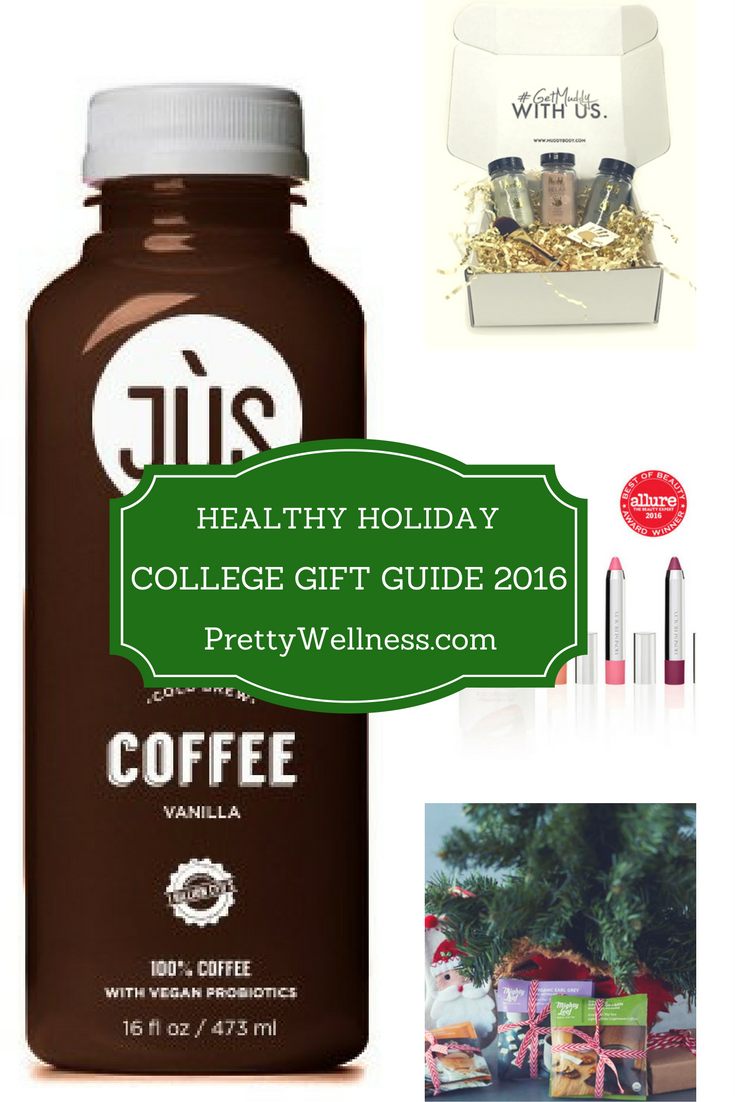 PrettyWellness.com College Student Healthy Holiday Gift Guide
