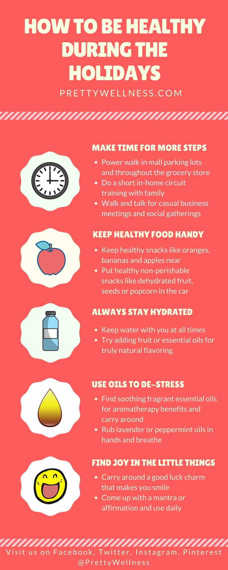 Holiday Stress Busters - How to Be Healthy During the Holidays