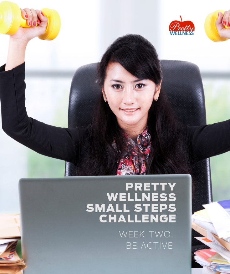 Pretty Wellness Small Steps Challenge 2020