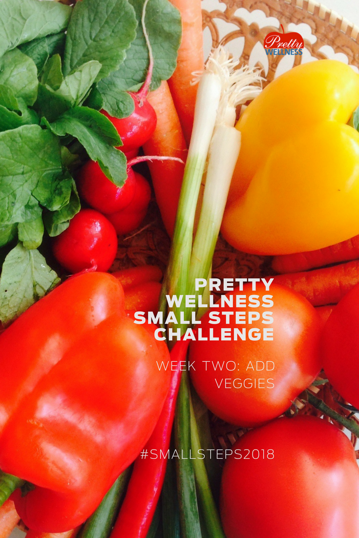 Pretty Wellness Small Steps Challenge 2018