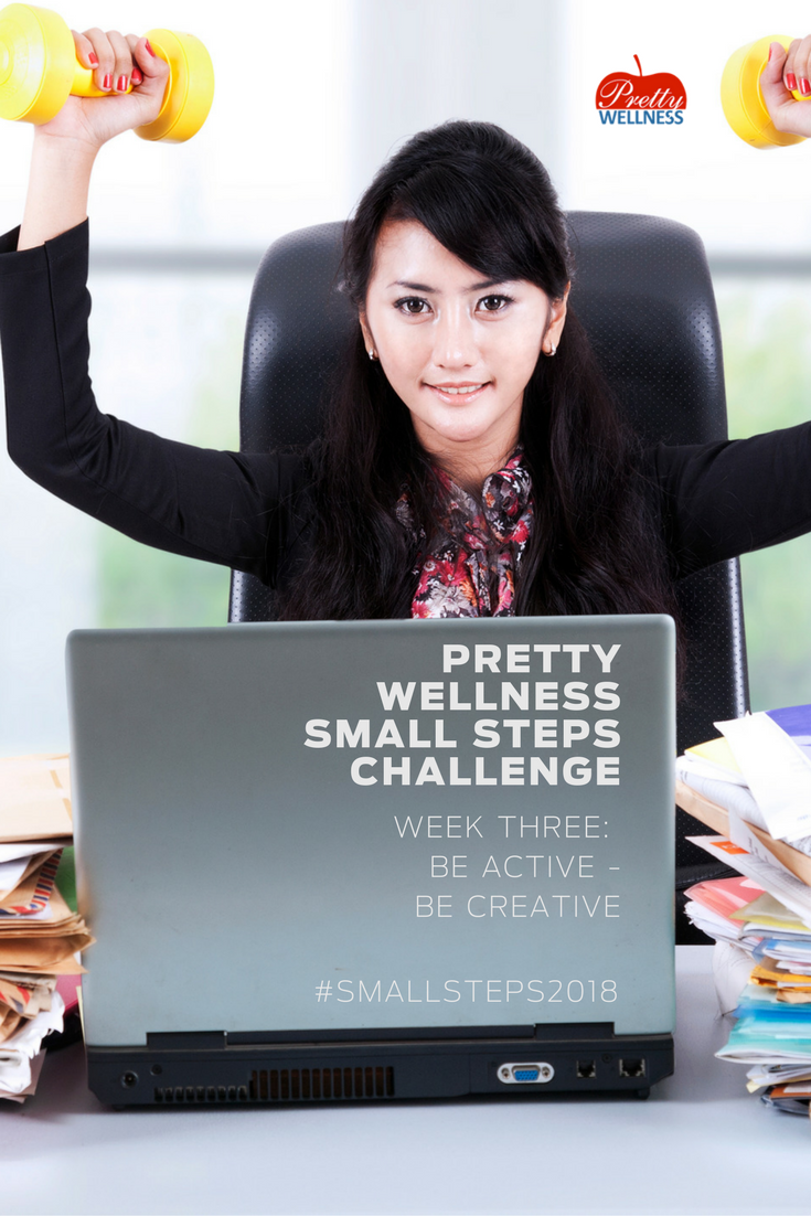 Pretty Wellness Small Steps 2018 Challenge