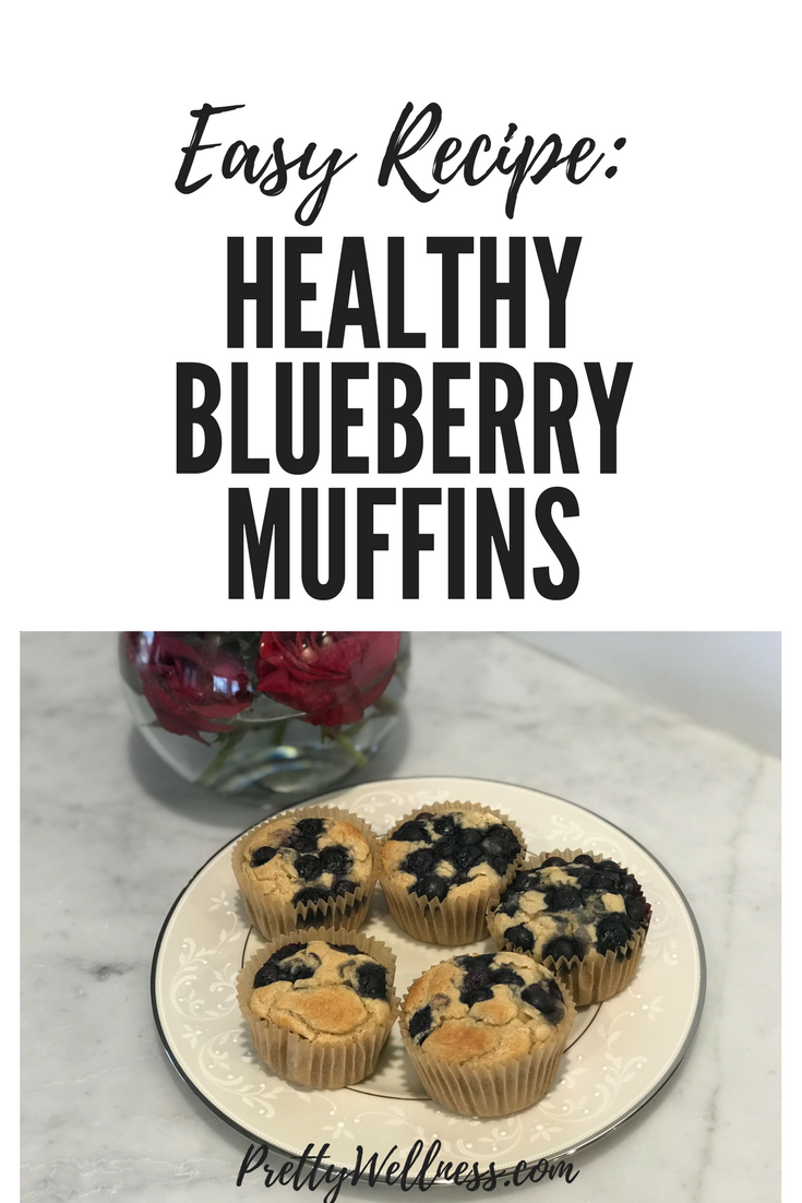 Easy Recipe: Healthy Blueberry Muffins
