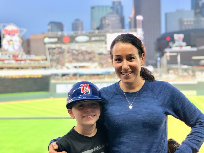 Target Field - visiting my childhood home and taking in baseball